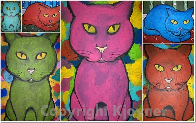 Cat Art By KJoyner