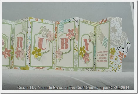 Scallop Tag Concertina Card,2014_03_Baby Girl Mia Ruby_ RUBY