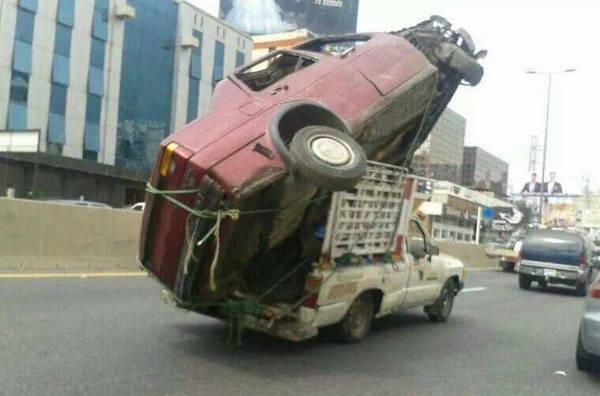 Eu acho que você esta usando o veículo errado 5
