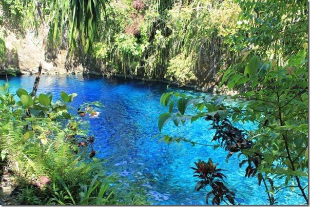 O Rio Encantado de Surigao, Filipinas (6)