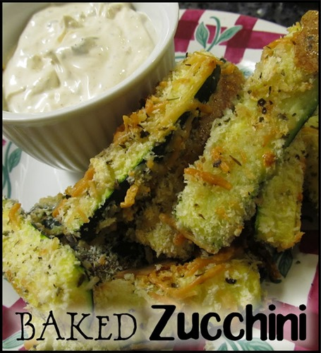 Baked Zucchini 1