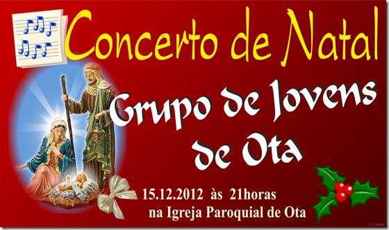 Concerto Natal - Gr. Jovens Ota - 2012