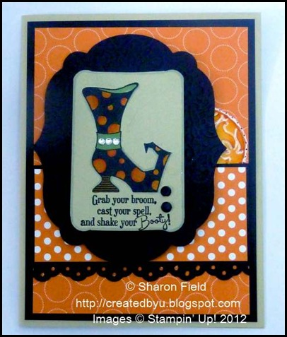 for splitcoast stampers fs258 challenge halloween