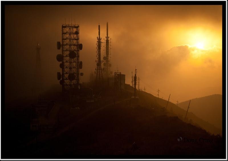 Foggy Daybreak At Hambaeksan