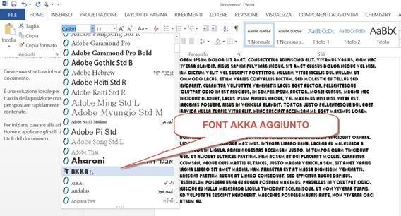 font-akka-word