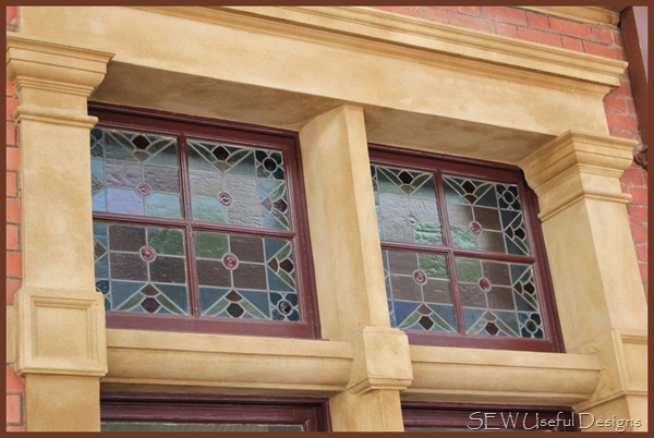 Maryborough station window outside