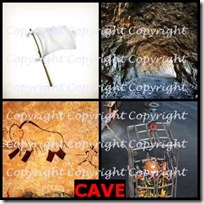 CAVE- 4 Pics 1 Word Answers 3 Letters