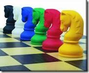 Cavalo do jogo de xadrez