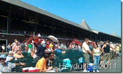 The race Track at Saratoga NY