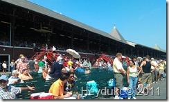 The race Track at Saratoga NY