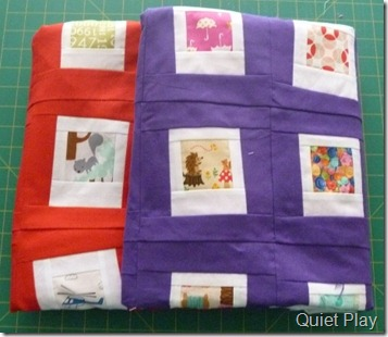 Happy Polaroid quilts