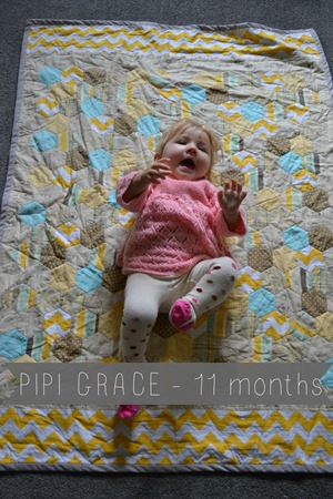 Pipi Grace 11 months