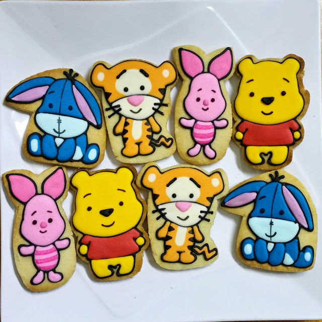 pooh and friends cookies