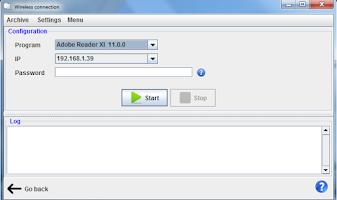 Screenshot of Remote Presentation