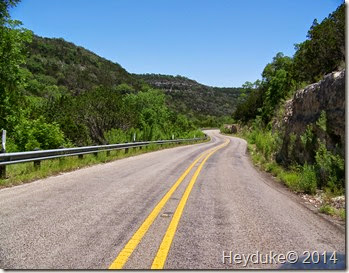 Vanderpool to Leakey road