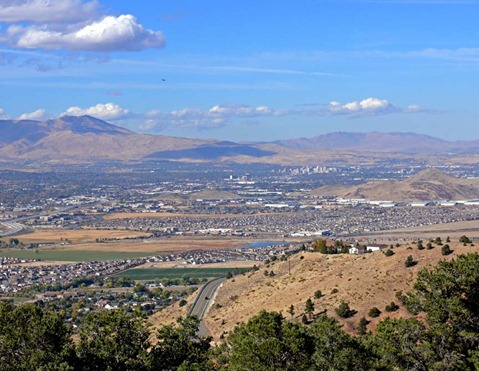 Reno Area View