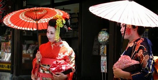 gueixas de kyoto