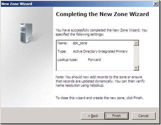 DNS ZONES CONFIGURATION (8)