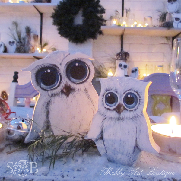 Shabby Art Boutique Woodland Christmas 7
