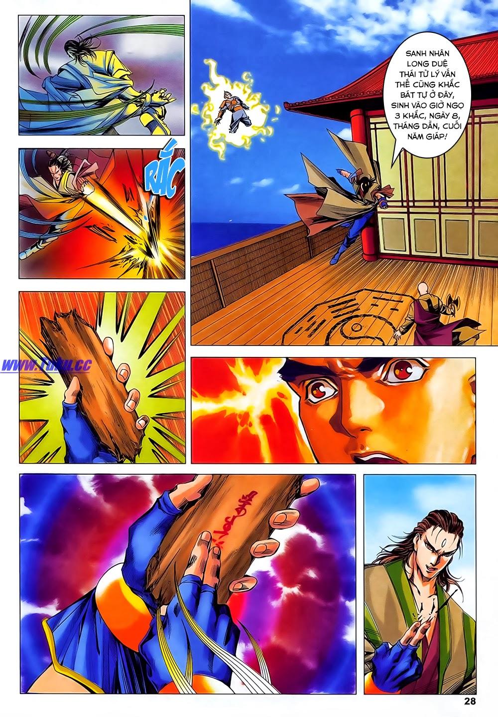 Lục Đạo Thiên Thư chap 31 - Trang 28