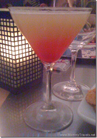 Flying Fish Cafe - Pineapple Upside Down Cake Martini