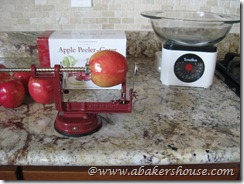 apple peeler-corer