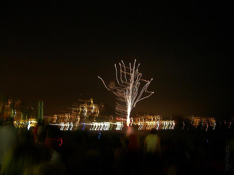 38. Фестиваль фейерверков. Бланес. Коста Брава. Испания. 2007.
