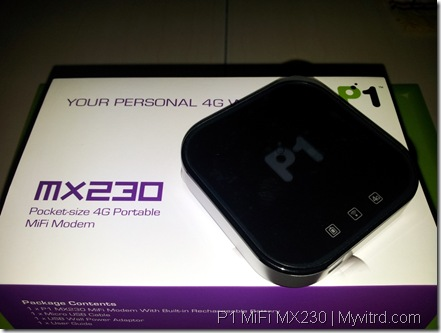 P1 MiFi MX230 d
