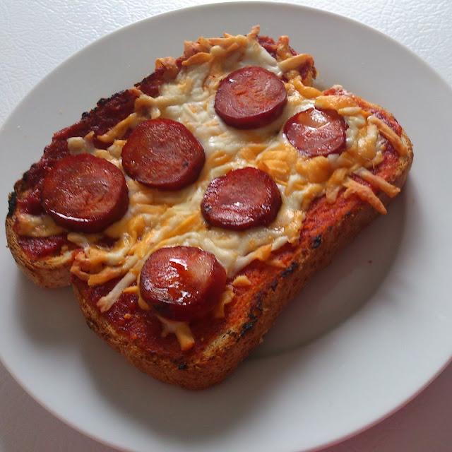 Samedi Bistro: Croque-Monsieur Pizza Piquant