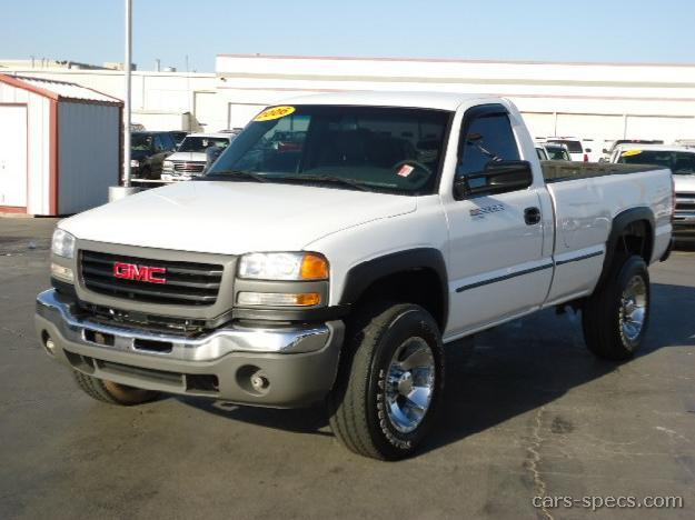 2004 GMC Sierra 2500HD Regular Cab Specifications, Pictures, Prices