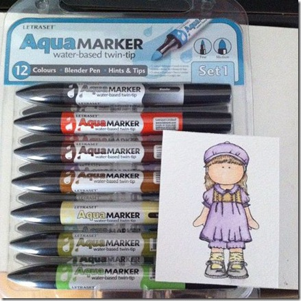 water color markers