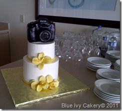 Camera & Orchid Bridal Shower