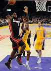 lebron james nba 130117 mia at lal 05 Boston Outlasts Miami in 2nd OT. LeBron Debuts Suede X PE!