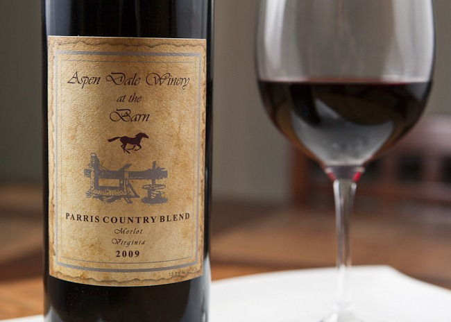 2009 Aspen Dale Winery at the Barn Parris County Blend Virginia Merlot-1