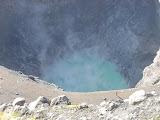 The blue-green lake in the deep eastern crater of Gunung Kaba (Dan Quinn, August 2013)