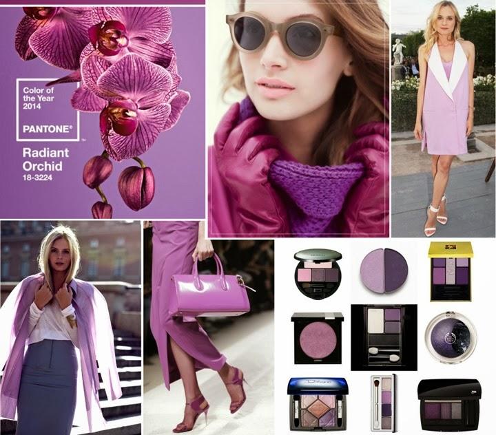 orquidea radiante cor da moda 2014