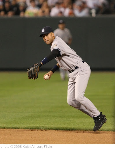 'Derek Jeter' photo (c) 2008, Keith Allison - license: http://creativecommons.org/licenses/by-sa/2.0/