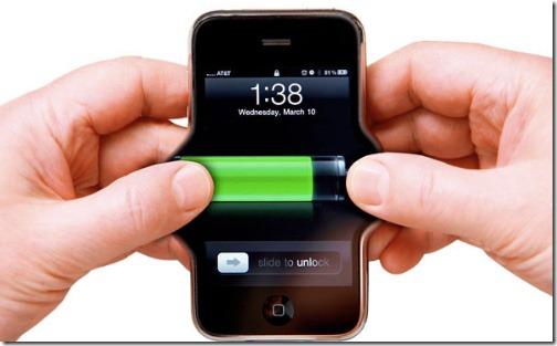 الحفاظ علي بطارية الهواتف الذكية