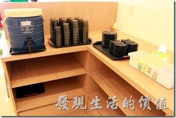 台南-越泰太。餐具須自行取用。