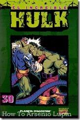 P00030 - Coleccionable Hulk #30 (de 50)