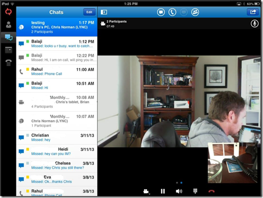 voipnorm u0026 39 s collaboration blog  lync 2013 iphone and ipad