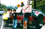 Anti- Meth (Ice) Signwaving @ U of N Kona