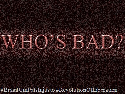 WHO'S BAD 2013 1