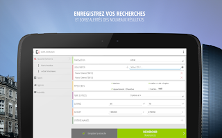 Screenshot of Explorimmo – Immobilier