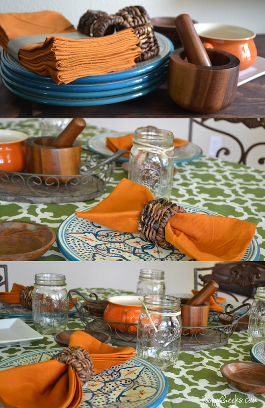 Sante Fe Tablescape by poofycheeks.com