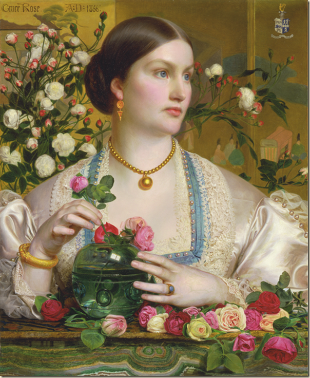 Anthony Frederick Sandys, Grace Rose 1866