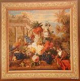 Gobelin 9084, Bouquet Exotique, 150x150cm