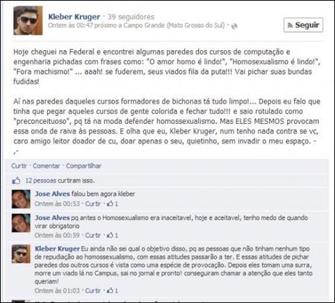 Kleber Kruger facebook