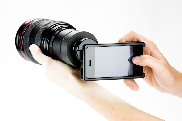 Iphone slr mount