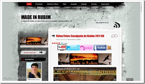 Blog Made in Rubim